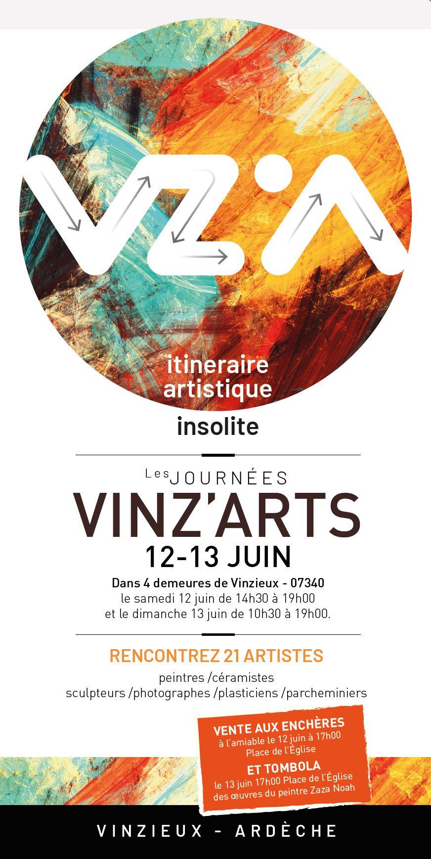 VINZ'ARTS 2021 le programme